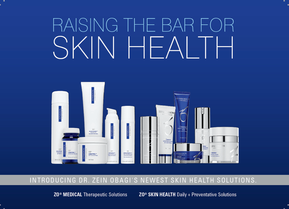 Raise the bar - Zo skin health